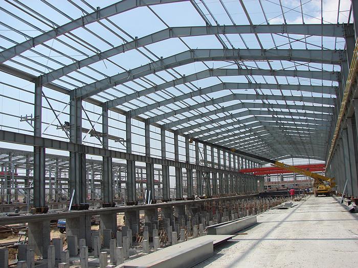 山东三维钢结构公司工程施工