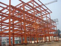 枣矿第二机械厂钢结构办公楼工程