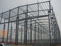 济南圣泉净化分离等钢结构重钢厂房工程