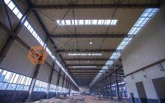 生物一体化续建项目彩钢结构厂房装饰和