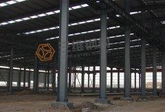 圣泉20万吨/年酚醛树脂重钢结构厂房工程