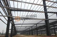 枣庄华润纸业有限公司轻钢结构厂房工程