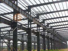 赛阳橡胶有限公司8#重钢厂房工程