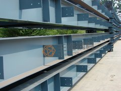 伊拉克30立方净化水轻钢结构项目