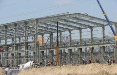 济南圣泉一体化项目重钢厂房喷雾干燥车