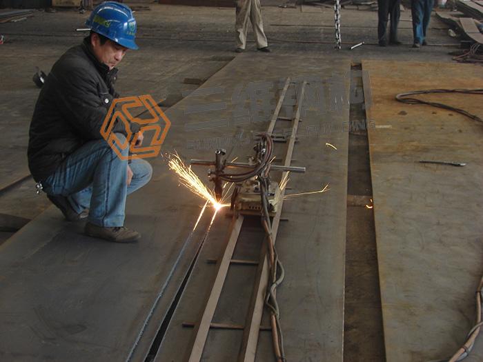 钢结构生产工艺切割