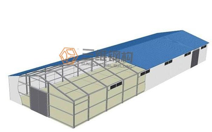 钢结构厂房相比较于传统砖混结构厂房有