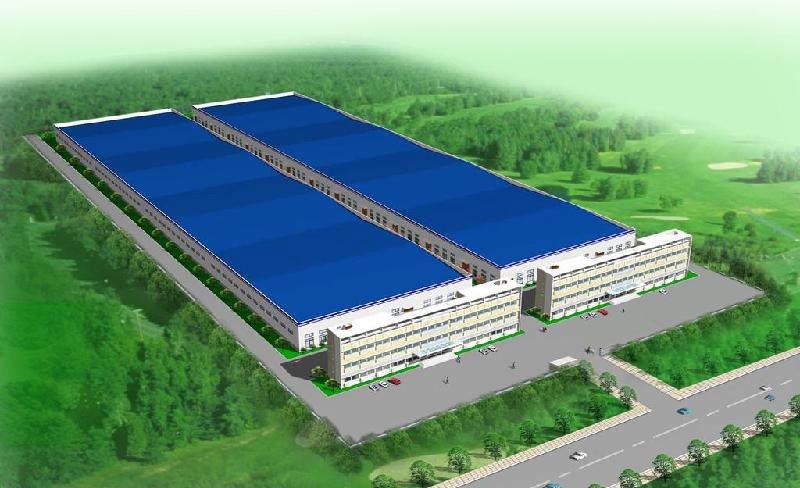 多层钢结构厂房横向和竖向地板