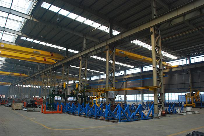 钢结构厂房施工进度快