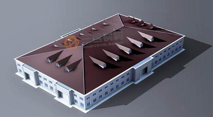 占地面积极少的多层钢结构厂房结构分布解析