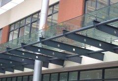 乍得机场航站楼钢结构工程雨棚