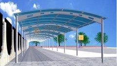 滕州市官桥汉石樽墓群钢结构工程防雨棚