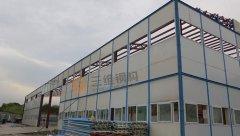 聊城公安机床系统轻钢结构厂房造价工程
