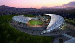 委索轻钢结构体育场项目