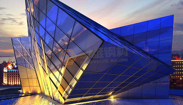山东三维钢结构公司钢结构图片