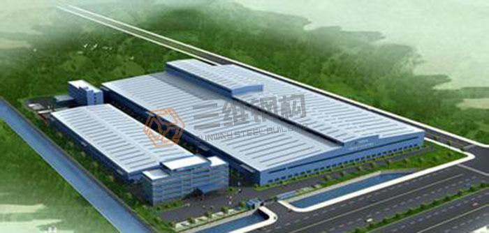 山东三维钢结构公司钢结构工程施工案例