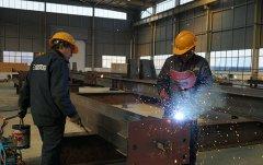 长沙市维创环保工程钢构件加工工程