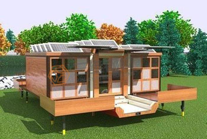立体房子折纸步骤图解