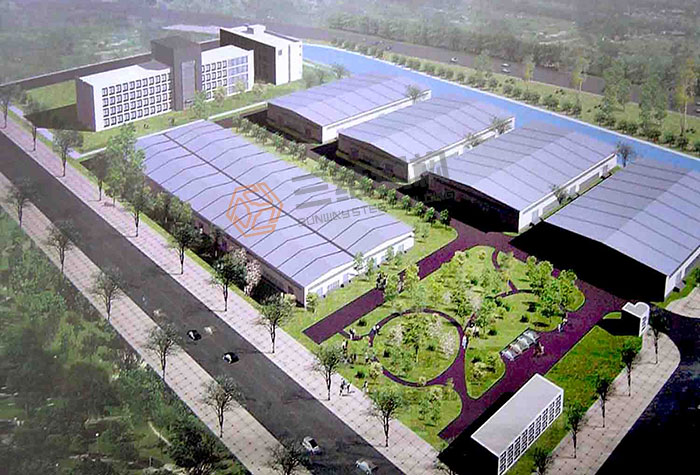 山东三维钢结构股份有限公司轻钢结构厂房