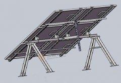 <b>太阳能光伏支架在安装时如何进行摆放?</b>