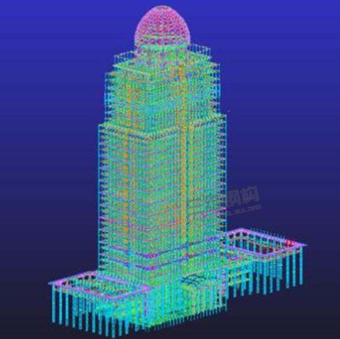 山东钢结构公司分析多高层钢结构建筑的楼盖型式是的
