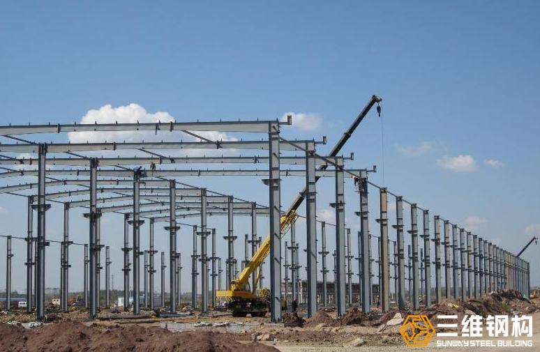 多高层钢结构厂房钢柱吊装