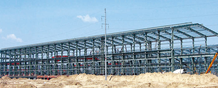 魏桥创业重钢结构厂房车间