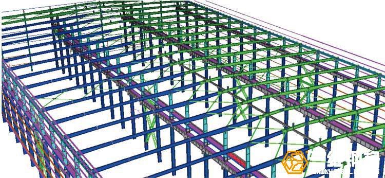 福林汽车钢结构厂房工程