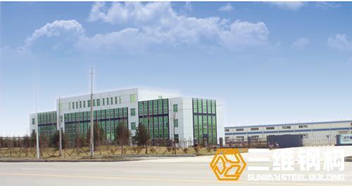 济宁福林汽车钢结构厂房工程