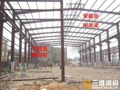 门式钢结构厂房施工安装的特点与工艺流程