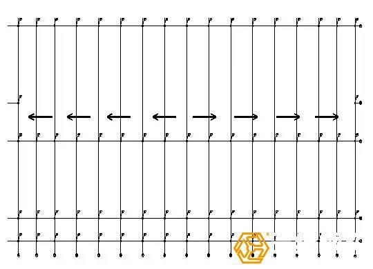钢结构现场安装顺序图