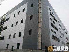 多层钢结构厂房框架结构组合类型