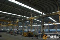 单层多跨钢结构厂房结构设计分析